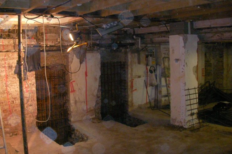 insulated-underpinning-London-underpinning-a-house-London