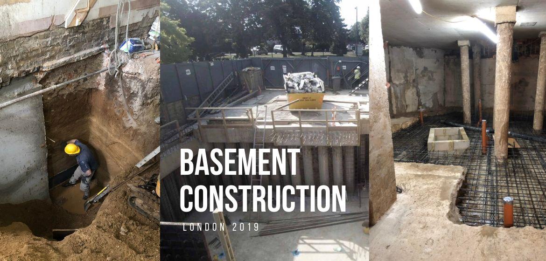 building-a-basement-London-basement-builder-London