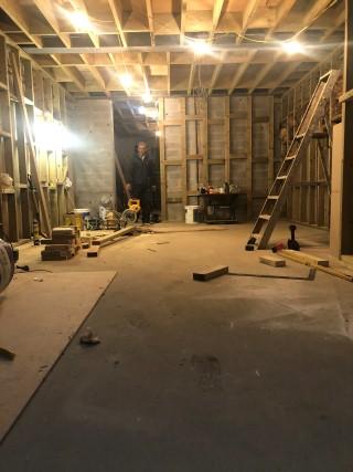 basement-excavation-London-poured-concrete-walls-London