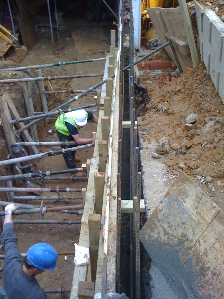 building-a-basement-London-basement-contractors-London