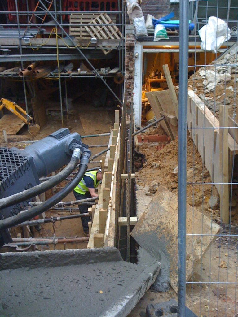 underpinning-London-underpinning-a-house-London